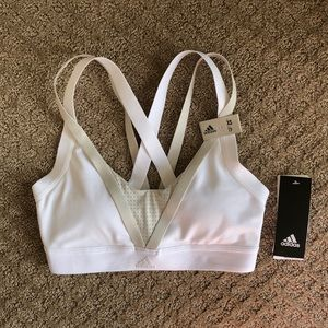 NWT Adidas All Me Framing Sports Bra